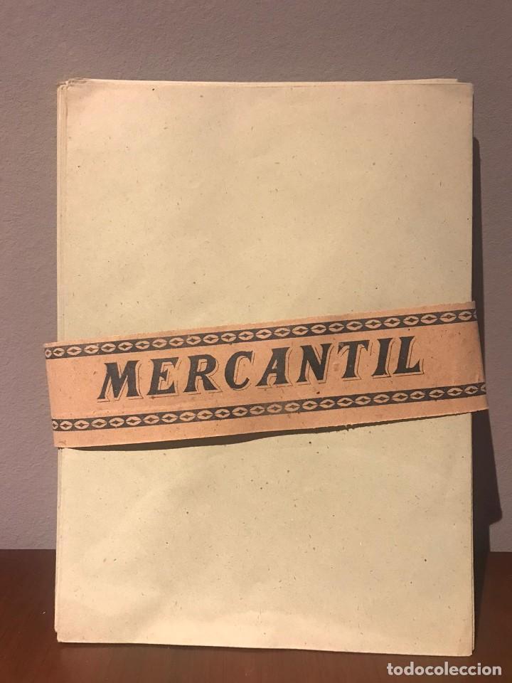 ANTIGUOS SOBRES DE OFICINA - MARCA MERCANTIL (Coleccionismo - Documentos - Cartas Comerciales)