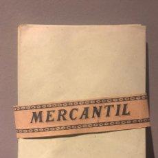 Cartas comerciales: ANTIGUOS SOBRES DE OFICINA - MARCA MERCANTIL. Lote 223276117