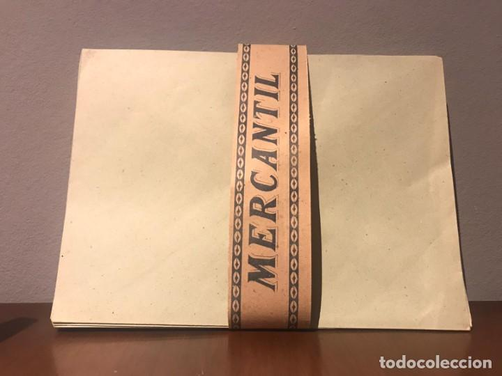 Cartas comerciales: ANTIGUOS SOBRES DE OFICINA - MARCA MERCANTIL - Foto 4 - 223276117