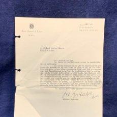 Cartas comerciales: CARTA DIRECTOR RADIO NACIONAL ESPAÑA ESTEVEZ FIRMA AUTOGRAFA 1961. Lote 223669012