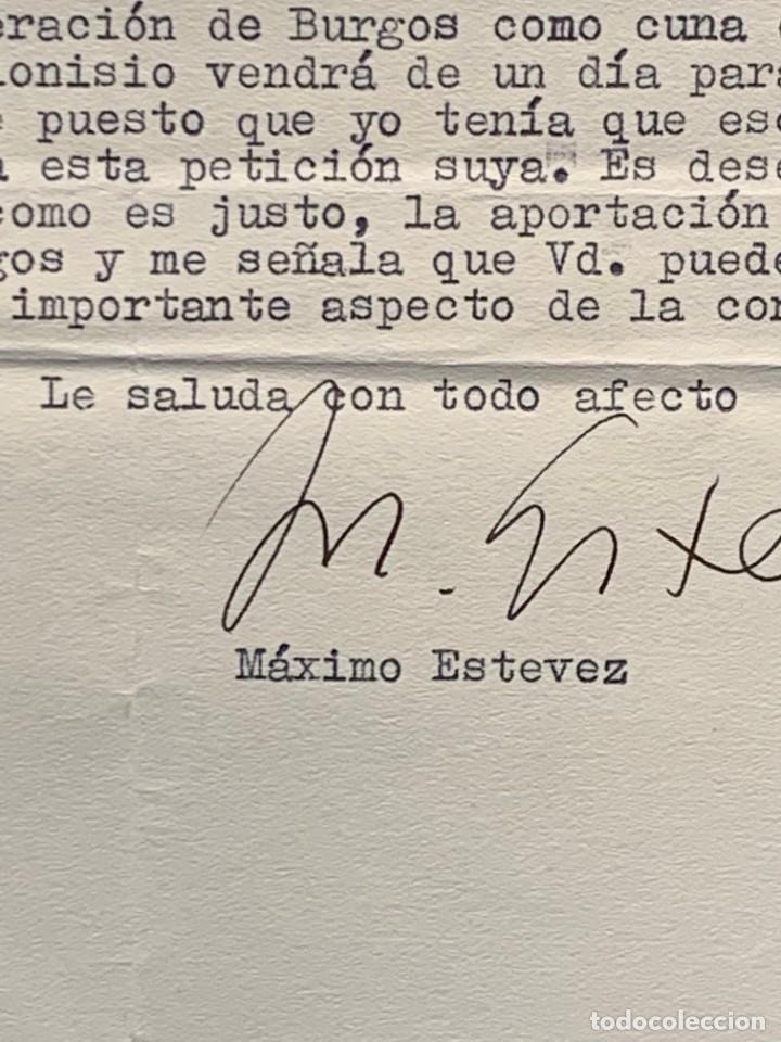 Cartas comerciales: CARTA DIRECTOR RADIO NACIONAL ESPAÑA ESTEVEZ FIRMA AUTOGRAFA 1961 - Foto 4 - 223669012