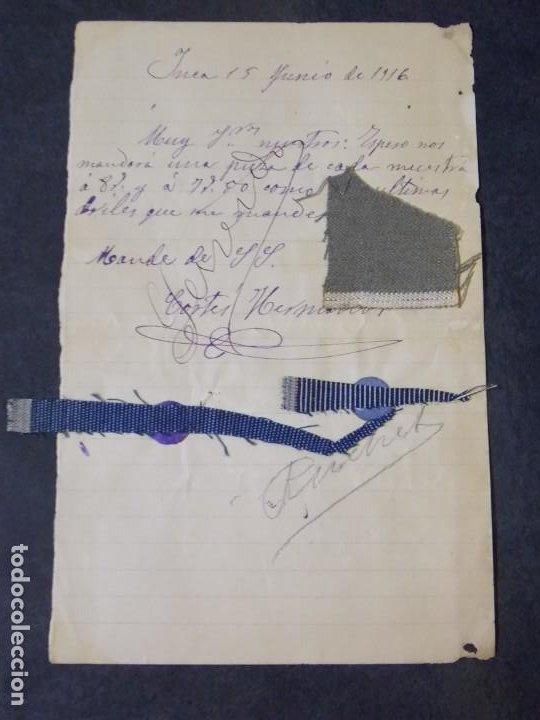CORTES HERMANOS (INCA) (Coleccionismo - Documentos - Cartas Comerciales)