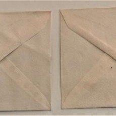 Cartas comerciales: DOS SOBRES Y DOS HOJAS DE CARTA DE EL DELEGADO DEL FRENTE DE JUVENTUDES DE JÁTIVA (VALENCIA). Lote 234112495