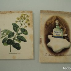 Cartas comerciales: 2 POSTALES COMERCIALES AÑO 40 VER FOTOSS. Lote 234520215