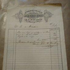 Cartas comerciales: MUEBLE DE LUJO. ANTONIO GONZÁLEZ MARTÍNEZ. MADRID FIRMA PROPIETARIO.. Lote 234801805