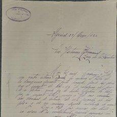 Cartas comerciales: CARTA COMERCIAL. FRANCÍSCO SAEZ. ALGECIRAS. ESPAÑA 1926. Lote 236052730