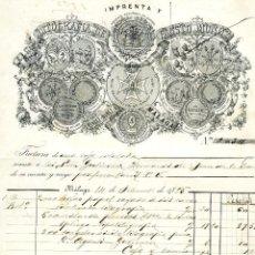 Cartas comerciales: OCHO CARTAS DE FIRMAS COMERCIALES DE MALAGA-VER FOTOS ADICIONALES DE CADA UNA DE ELLAS .. Lote 236521925