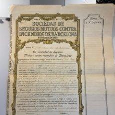Cartas comerciales: 1921. PÓLIZA DE CRÉDITO ORIGINAL. Lote 236952515