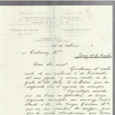 Cartas comerciales: CARTA COMERCIAL. MAXIMILIANO L. RUBATTO. IMPORTACION ARTICULOS EUROPEOS Y EEUU. 1903 AREQUIPA. 2 PG. Lote 237302960