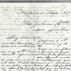 Cartas comerciales: CARTA COMERCIAL. MANUSCRITA. JUAN SIMO. 1909. HABANA. Lote 237304885
