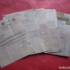 Cartas comerciales: CARTAS COMERCIALES.-FACTURAS.-LOTE DE 27 DOCUMENTOS.-AÑOS 1927-1953.. Lote 237331260
