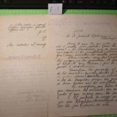 Cartas comerciales: JOSÉ ARENAS CARRASCO SEVILLA 1938. Lote 238564630