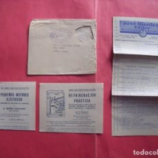 Cartas comerciales: JOSE MONTESO.-EDITOR.-NOTA DE PEDIDO.-CARTA COMERCIAL.-BARCELONA.-AÑO 1954.. Lote 244202550