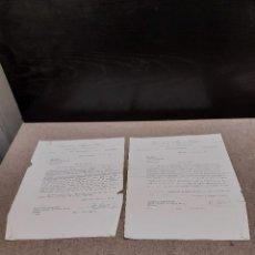 Cartas comerciales: DOS CARTAS ESCRITAS POR LA ATRACCIÓN INTERNACIONAL LOANSELI Y MIGUEL ORDOVAS...1961.... Lote 244997855