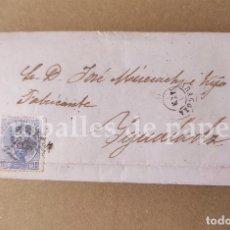 Lettere commerciali: CARTA COMERCIANTE DE ZARAGOZA A IGUALADA 26 DE JUNIO DE 1873 JOSÉ MISERACHS. Lote 249537225