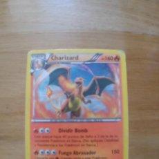 Cartas comerciales: CARTA CHARIZARD POKEMON CARDS. Lote 251844140