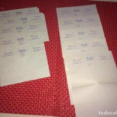 Cartas comerciales: HOTEL UNIVERSAL Y HOTEL VICTORIANO - GRANADA - AÑOS 40 - LOTE 5 SOBRES Y 5 CARTAS - AÑOS 40. Lote 262005320