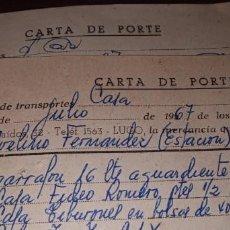 Cartas comerciales: CORRESPONDENCIA COMERCIAL CASA LÓPEZ FREIRE LUGO. Lote 262059275