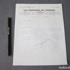 Cartas comerciales: CARTA COMERCIAL DE LA PAPELERA DE CEGAMA, GUIPUZCOA 1933. Lote 262156120