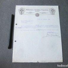 Cartas comerciales: CARTA COMERCIAL DE LA HELIOTIPIA ARTÍSTICA ESPAÑOLA . MADRID 1930. Lote 262951310