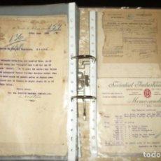 Cartas comerciales: GRAN LOTE DE MÁS DE 300 CARTAS COMERCIALES DE 1900 A 1920.. Lote 265160579