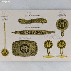 Cartas comerciales: CARTA POSTAL COMERCIAL MARTIN LARRAÑAGA FABRICA DE JOYAS AÑO 1929. Lote 265167434
