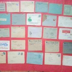 Cartas comerciales: CARTAS COMERCIALES.-GRAN Y BONITO LOTE DE CARTAS COMERCIALES CON SUS SOBRES.-PUBLICIDAD.. Lote 269011529