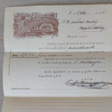 Cartas comerciales: CARTA COMERCIAL DE VERDEJO CLEMENTE Y MARQUES - SOCIEDAD EN COMANDITA - SUCESORES DE ANTONIO ROMERO. Lote 269577348