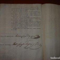 Lettere commerciali: OFERTA DE PATENTE NUEVO SISTEMA VINIFICADOR. AÑO 1821.. Lote 276122758