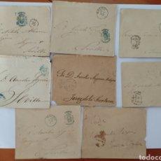 Cartas comerciales: COLECCIÓN 8 CARTAS CONGRESO DE LOS DIPUTADOS PERIODO AÑOS 1872 - 1895. Lote 276565693