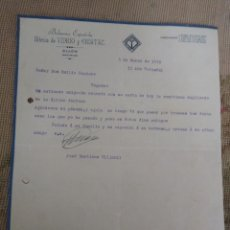 Lettere commerciali: BOHEMIA ESPAÑOLA. FABRICA DE VIDRIO Y CRISTAL. GIJÓN . ASTURIAS.. Lote 276691048