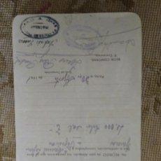 Lettere commerciali: ALMACÉN COLONIALES. VIUDA DE JUAN F LEIRAS PORTO RIBADEO.ASTURIAS. Lote 276702868