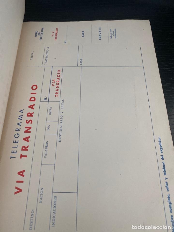 Cartas comerciales: TRANSRADIO ESPAÑOLA SA. IMPRESOS TELEGRAMAS - Foto 4 - 276800853