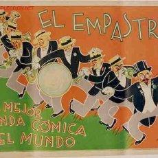 Carteles Espectáculos: CARTEL ,BANDA COMICA EL EMPASTRE. Lote 26864578