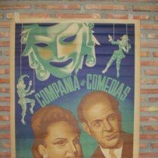 Carteles Espectáculos: COMPAÑIA DE COMEDIAS MARTI-PIERRA. Lote 16336140