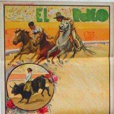 Carteles Espectáculos: CARTEL ESPECTACULAR EL RODEO MODELO 2 AÑOS 30 , RB. Lote 15642209