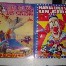 Carteles Espectáculos: CARTEL DE CIRCO PROMOCIONAL DE LOS PAYASOS 'PALMERINIS'.. Lote 22796341
