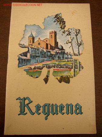 REQUENA, PROGRAMA DE FERIA Y FIESTAS 1960-CON 18 PÁG. MIDE 21 X 13.5 CM. TAPAS CARTULINA TROQUELADA. (Coleccionismo - Carteles Gran Formato - Carteles Circo, Magia y Espectáculos)