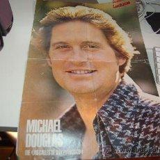 Carteles Espectáculos: MICHAEL DOUGLAS. PÓSTER DE MEDIADOS DE LOS AÑOS 70. Lote 26652105
