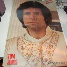 Carteles Espectáculos: TOM JONES. PÓSTER DE MEDIADOS DE LOS AÑOS 70. Lote 26356727