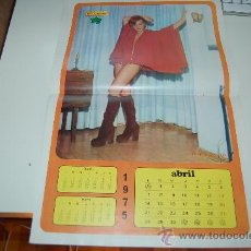 Carteles Espectáculos: ESPERANZA ROY: PÓSTER-CALENDARIO DE 1975. Lote 26271073