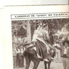 Carteles Espectáculos: HOJAS REPORTAJE AÑO 1908 GLOBO DIRIGIBLE GUADALAJARA TORRES QUEVEDO FERIA VALENCIA CARRERA DE JOYES. Lote 19283827