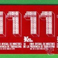 Carteles Espectáculos: CINCO - VIÑETAS DE REUS XI FERIA OFICIAL DE MUESTRAS DE LA PROVINCIA TARRAGONA EL AÑO 1978. Lote 27376604