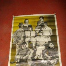 Carteles Espectáculos: CARTEL DE LOS TULIPANES NEGROS .AÑO 1971.100X70 CM.. Lote 26655469