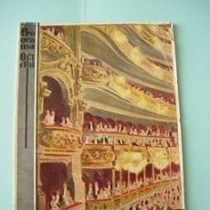 Carteles Espectáculos: GRAN TEATRO DEL LICEO , PROGRAMA TEMPORADA 1928 - 1929. Lote 26213278