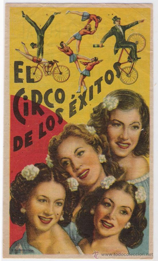 EL CIRCO DE LOS EXITOS..CIRCO ROYAL (TEXTO) (Coleccionismo - Carteles Gran Formato - Carteles Circo, Magia y Espectáculos)