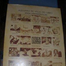 Carteles Espectáculos: ALELUYAS ,AUCA DE VILLA DEL LIBRO ,2007-VALLADOLID-.. Lote 195240565