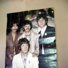 Carteles Espectáculos: POSTER, BEATLES, 1967, THE HULTON-DEUTCH COLLECTION, WIZARD & GENIUS IDEALDECOR, SWITZERLAND 1993. Lote 30907723