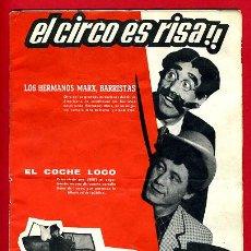 Carteles Espectáculos: REVISTA PROGRAMA CIRCO AMERICANO MADRID , ORIGINAL ,C69. Lote 31809729