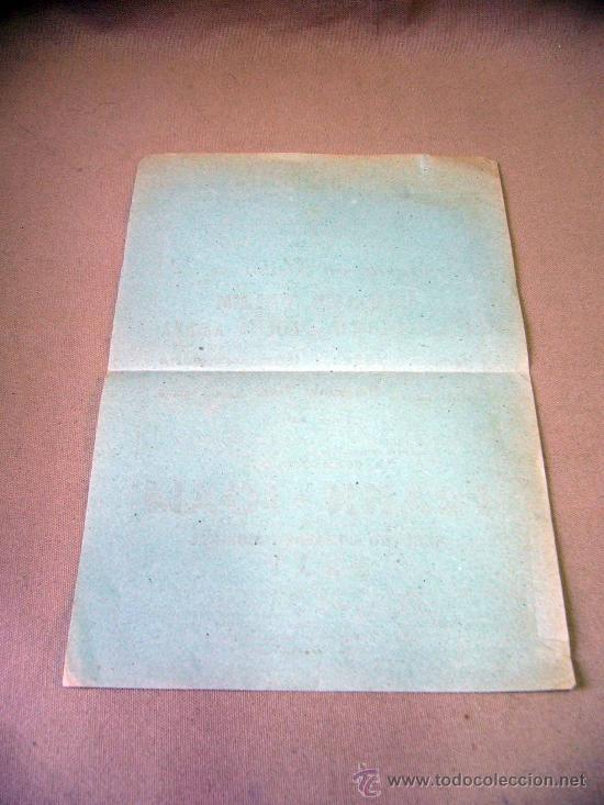 Carteles Espectáculos: PROGRAMA DE TEATRO, CARTEL, TEATRO ROMEA, 1950, CARMEN VELEZ, ORQUESTA FRAHN-JOAM - Foto 2 - 32095202
